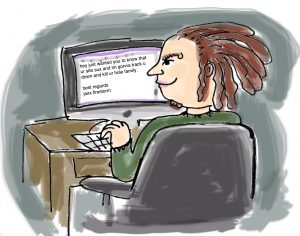 hacker troll email website carolyn