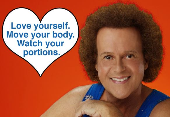 richard simmons valentine card missing